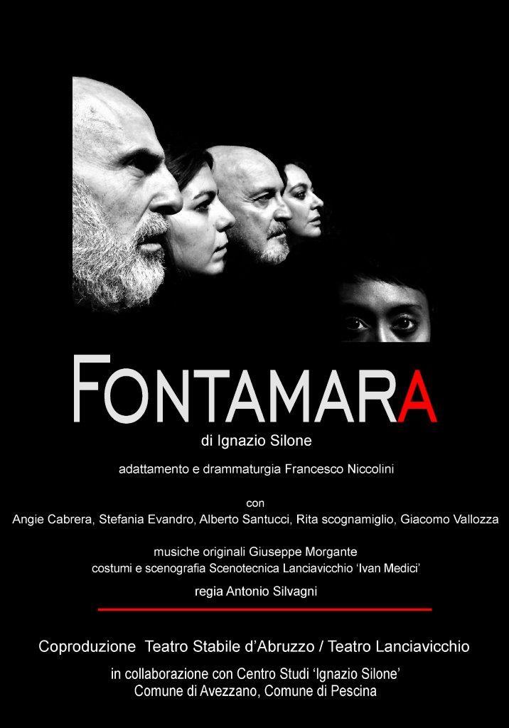 FONTAMARA prima nazionale 2 marzo Teatro S.Francesco, Pescina (AQ)